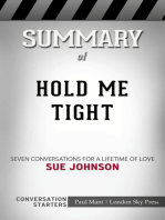 Summary of Hold Me Tight by Sue Johnson | Conversation Starters