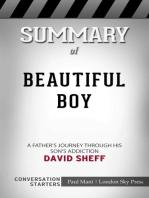 Summary of Beautiful Boy