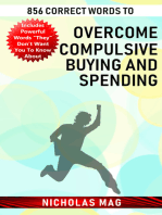 856 Correct Words to Overcome Compulsive Buying and Spending