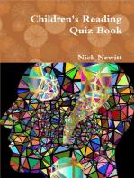 Children's Reading Quiz Book