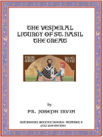 The Vesperal Liturgy of St. Basil the Great