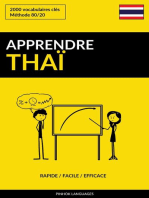 Apprendre le thaï