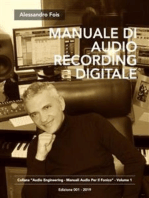 Manuale di Audio Recording Digitale