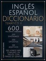 Inglés Español Diccionario Temático 2