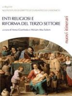 """Enti religiosi e riforma del Terzo settore - La collana sarebbe """"Nuovi studi di Diritto ecclesiastico e canonico - Nuovi itinerari"""""""