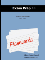 Exam Prep Flashcards for Science and Biology