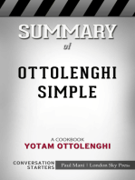 Summary of Ottolenghi Simple