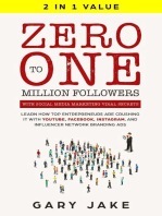 Zero to One Million Followers with Social Media Marketing Viral Secrets in 2020