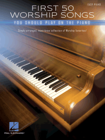 First 50 Worship Songs You Should Play on Piano