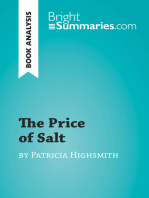 The Price of Salt by Patricia Highsmith (Book Analysis): Detailed Summary, Analysis and Reading Guide
