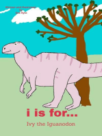 I is for... Ivy the Iguanodon