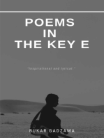 Poems in the Key E