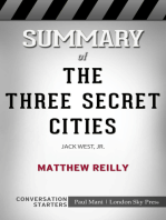 Summary of The Three Secret Cities by Matthew Reilly | Conversation Starters