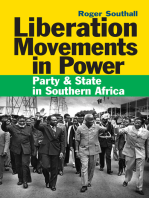 Liberation Movements in Power: Party and State in Southern Africa