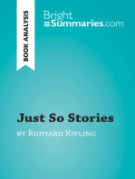 Just So Stories by Rudyard Kipling (Book Analysis)