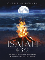 Isaiah 43:240 Days of Scriptures, Journaling & Reflection for the Lent Season