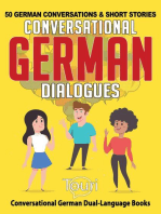 Conversational German Dialogues: 50 German Conversations and Short Stories: Conversational German Dual Language Books, #1