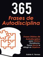 365 Frases de Autodisciplina