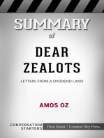 Summary of Dear Zealots