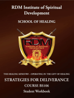 Strategies For Deliverance Course