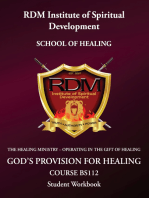 God's Provision For Healing Course