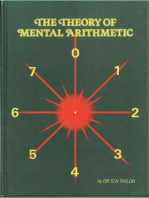 The Theory of Mental Arithmetic