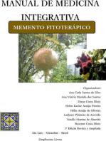 Manual de medicina integrativa memento fitoterápico