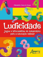 Ludicidade: jogos e brincadeiras de matemática para a educação infantil