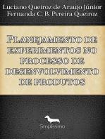 Planejamento de experimentos no processo de desenvolvimento de produtos
