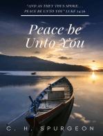Peace be Unto You