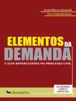 Elementos da demanda e suas repercussões no processo civil: DE ACORDO COM O NOVO CPC