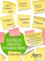 Questões de linguística aplicada ao ensino: da teoria à prática