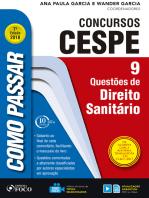 Como passar em concursos CESPE: direito sanitário: 9 questões de direito sanitário