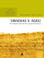 Obadias e Ageu