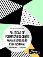 Políticas de formação docente para a educação profissional: realidade ou utopia?