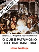 O que é patrimônio cultural imaterial