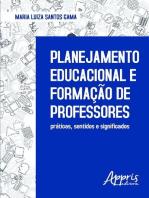 Planejamento educacional e formação de professores