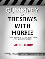 Summary of Tuesdays with Morrie