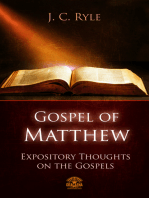 Bible commentary - The Gospel of Matthew