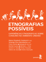 Etnografias possíveis: Experiência etnográficas sobre consumo no ambiente urbano