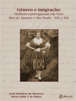 Gênero e imigração: Mulheres portuguesas em foco (Rio de Janeiro e São Paulo – XIX e XX)
