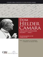Dom Helder Camara Circulares Conciliares Volume I - Tomo I
