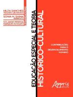 Educação Especial e Teoria Histórico-Cultural: Contribuições para o Desenvolvimento Humano