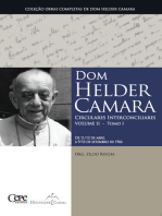Dom Helder Camara Circulares Interconciliares Volume II - Tomo I
