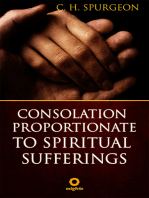 Consolation proportionate to spiritual suffering