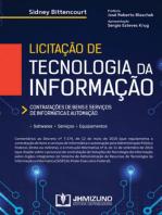 Licitação de Tecnologia da Informação: Contratações de bens e serviços de informática e automação