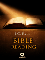 Bible Reading - Learn to read and interpret the Bible