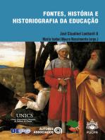 Fontes, história e historiografia da educação
