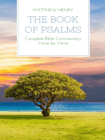 The Book of Psalms - Complete Bible Commentary Verse by Verse