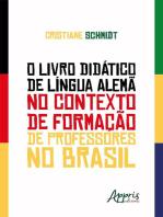 O Livro Didático de Língua Alemã no Contexto de Formação de Professores no Brasil